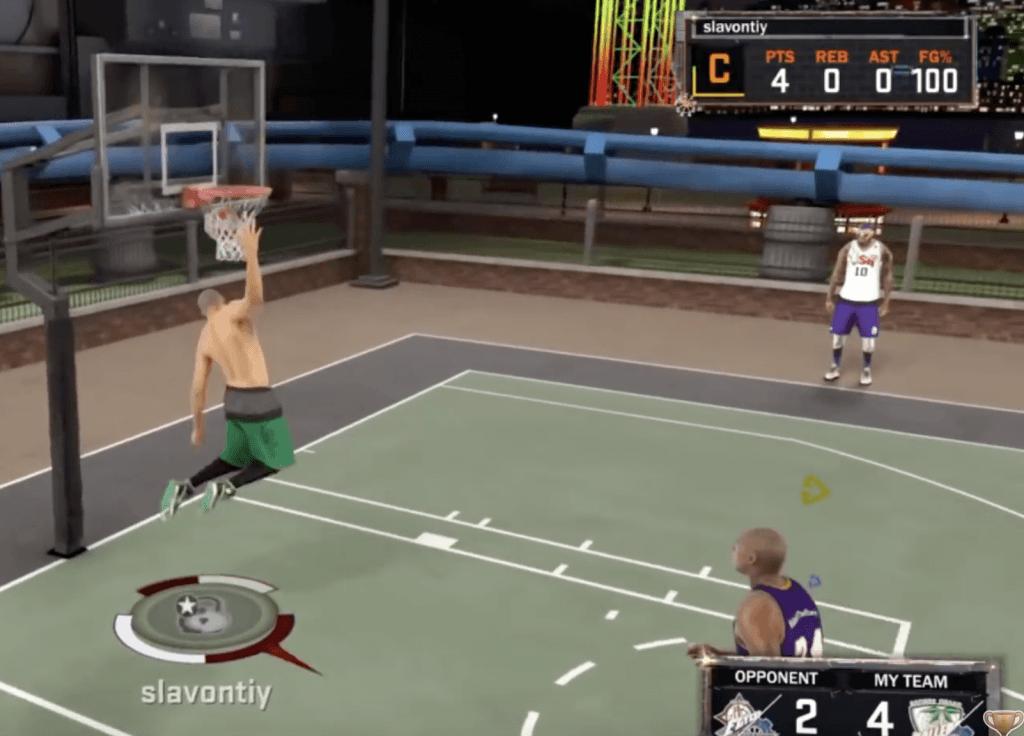 Матч кибербаскетбола
