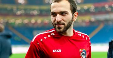 Мелкадзе, выступающий на правах аренды за «Тамбов», может летом сменить команду.