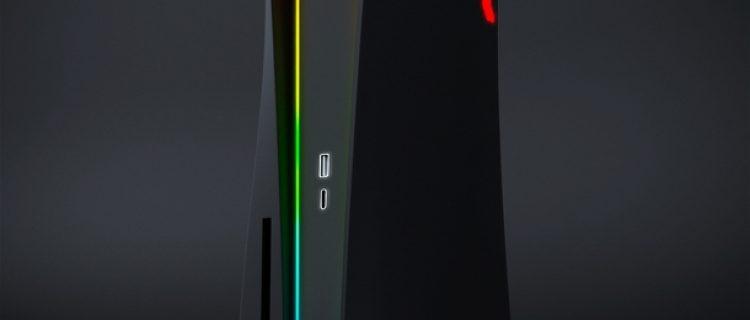 Дизайнер представил свою версию PlayStation 5 с RGB‑подсветкой