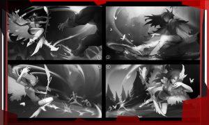 Knight Zhang показал концепт арт арканы на Windranger
