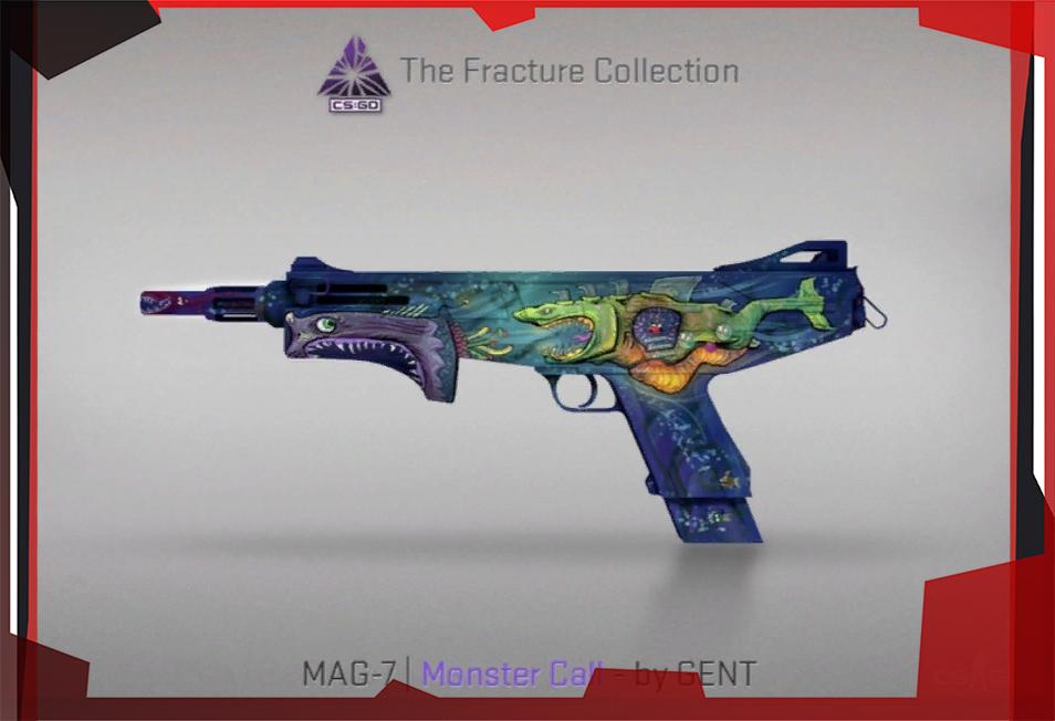 В CS:GO вышел кейс The Fracture Collection