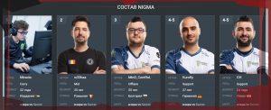 История и достижения коллектива Dota 2 Nigma Esports.