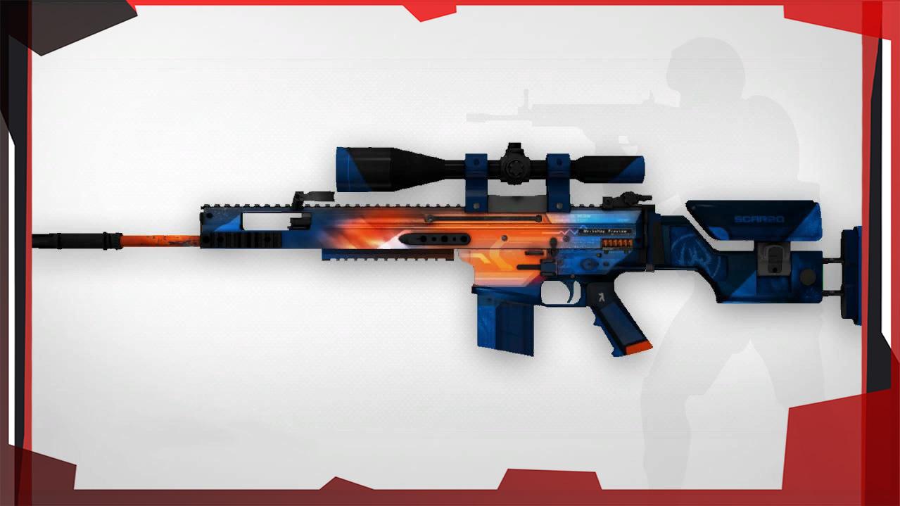 Снайперские винтовки в CS:GO