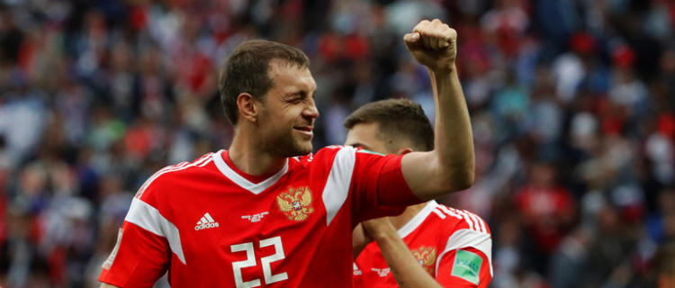 Сборная России улучшила положение в рейтинге ФИФА