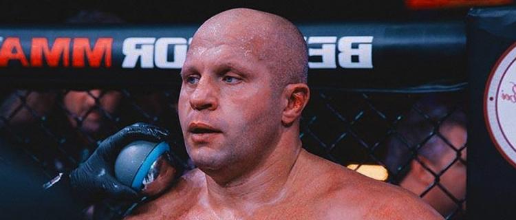 Фёдор Емельяненко может провести бой с Броком Леснаром