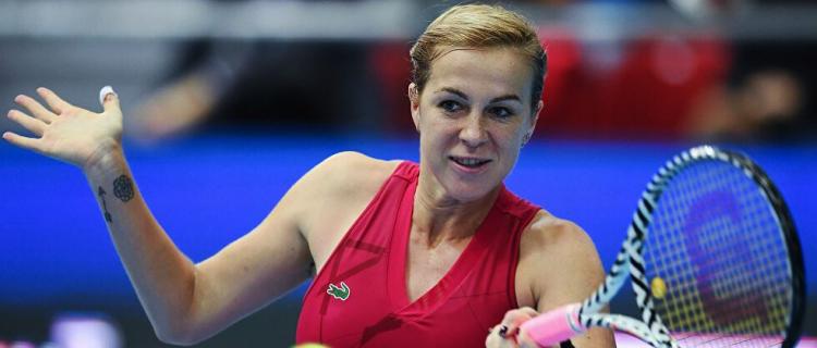 Анастасия Павлюченкова одержала победу над Чжан Шуай