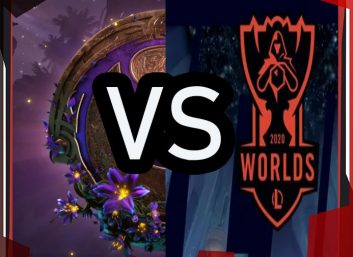 Worlds против International 2020