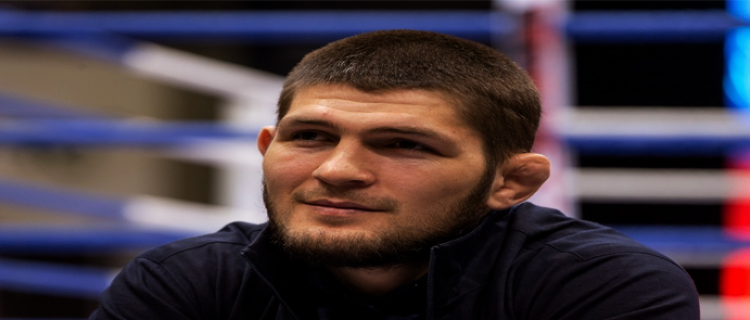 """Хабиб Нурмагомедов: """"Моя цель - первое место среди лучших бойцов UFC"""""""