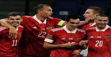 Сборная России опустилась на 34-е место в рейтинге ФИФА