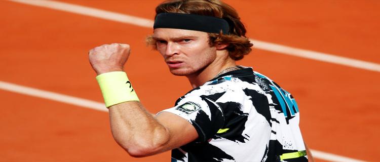 Андрей Рублёв вышел в третий круг турнира в Монте-Карло