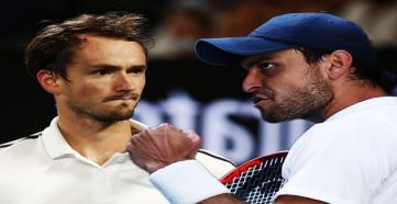 Карацев и Медведев сразятся во втором круге турнира в Риме