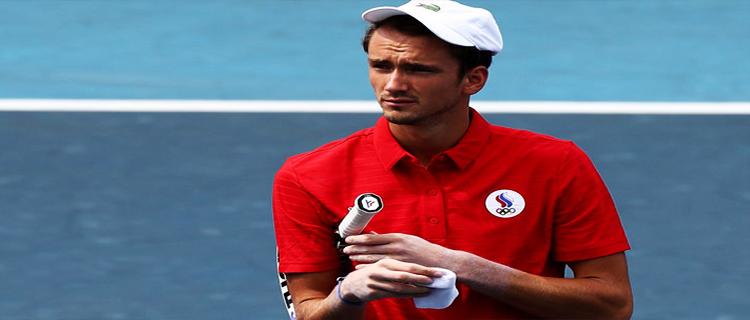 Даниил Медведев не сумел выйти в полуфинал Олимпийских игр