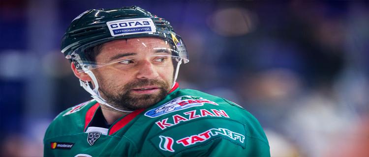 Данис Зарипов продлил контракт с «Ак Барсом»