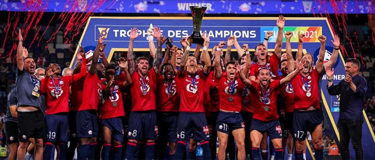 «Лилль» завоевал Суперкубок Франции, обыграв «ПСЖ»