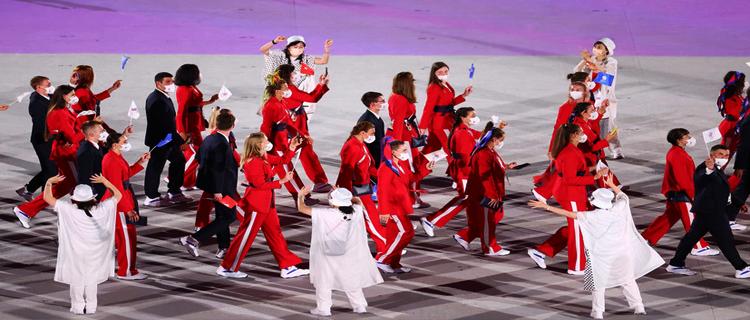 Россия будет выступать без национальных знаков на ОИ-2022