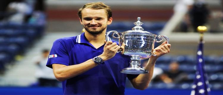 Даниил Медведев впервые выиграл турнир «Большого шлема»